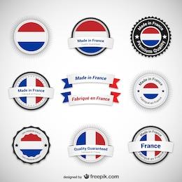 Made in France rótulos