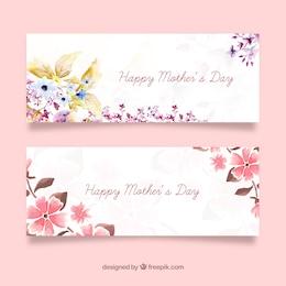 Mães banners dias