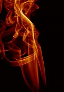 magia névoa de fumaça