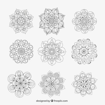 Mandalas ornamentais