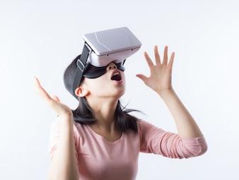 Mão gadget de inovação de vídeo na Internet
