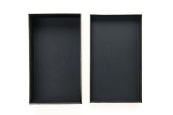 Maqueta de caixa preta