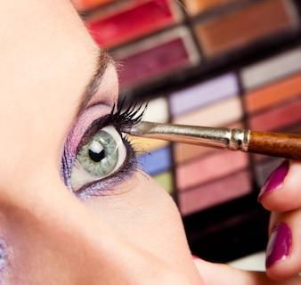 Maquiagem de beleza