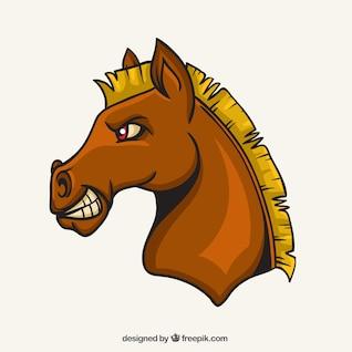 Mascote do cavalo