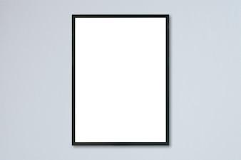 Material de cinza em branco padrão placard