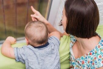 Matriz que aponta algo para seu filho