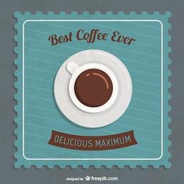 Melhor café fundo