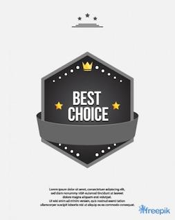 Melhor escolha prêmio