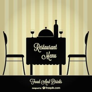 Menu do restaurante ilustração livre