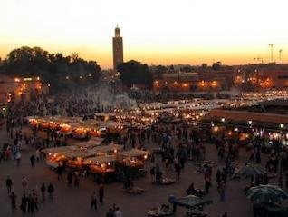 mercado marroquino