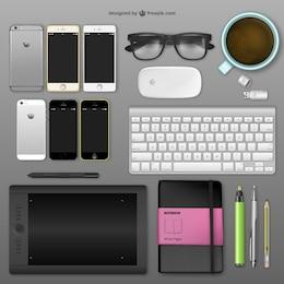 Mesa de designer Realistic