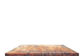 Mesa superior em isolar