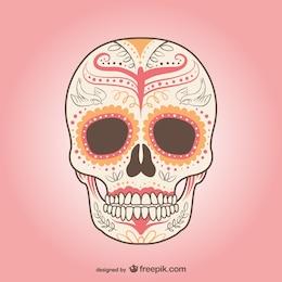 Mexicano vetor do crânio
