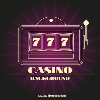 Casino minimalista fundo vector