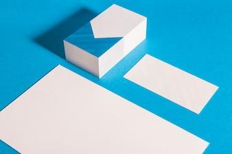 Mockup de papelaria corporativa