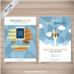 Modelo de brochura