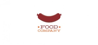 modelo de logotipo do projeto para alimentos e bebidas