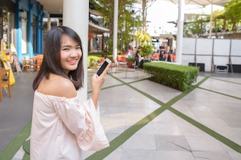 Modelo de telefone positiva internet móvel