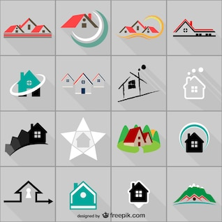 Modelos de logotipo imobiliário