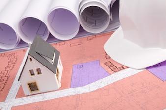 Moderno esquema de arquitetura de trabalho de trabalho