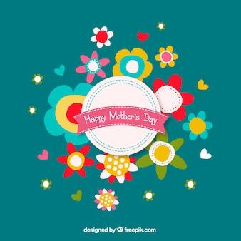 Dia flores da mãe buquê gráficos livres