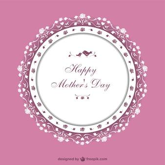 Dia do vetor da arte da mãe