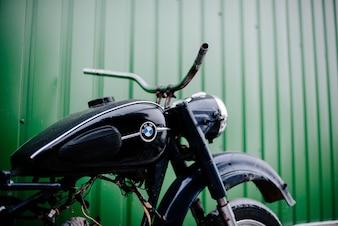 Motocicleta velha