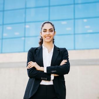 Mulher de negócios bem sucedida