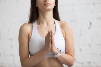 Mulher que praying