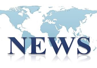 Mundo globo terrestre notícias globalização