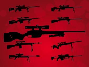 munição Big vetor armas