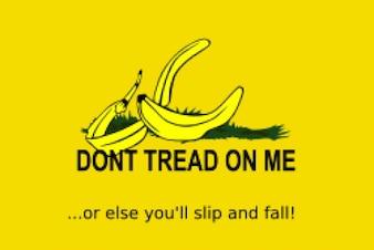 Não pise em mim (remix de casca de banana)