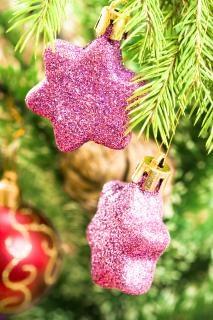 Natal verde decoração
