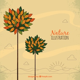 Natureza ilustração