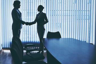 Negociação com um novo funcionário