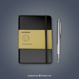 Notebook Realistic