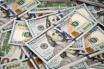 Número do banco eua dólar contas