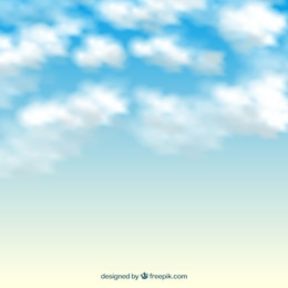 Nuvens fundo