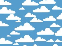 nuvens simples