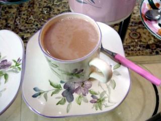O chá-de-rosa