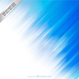 O fundo azul e branco