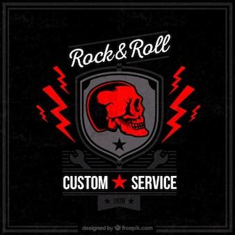 O rock and roll serviço personalizado