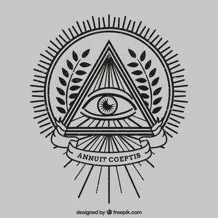 Olho dentro de um triângulo