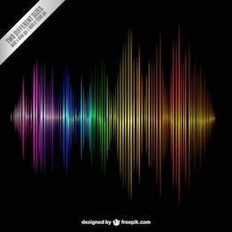 Onda sonora Colorful