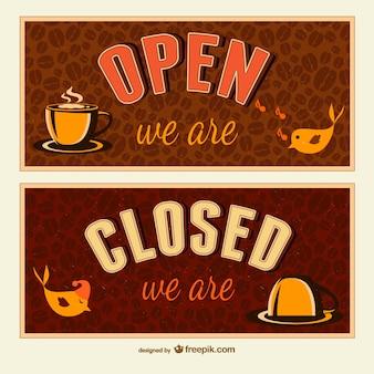 Sinais abertos e fechados