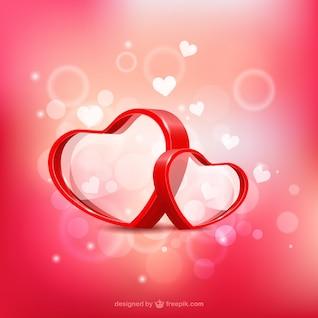 Os corações dos Namorados