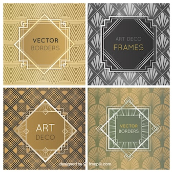 Os quadros do art deco