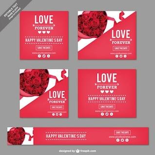 Pacote de Dia dos Namorados