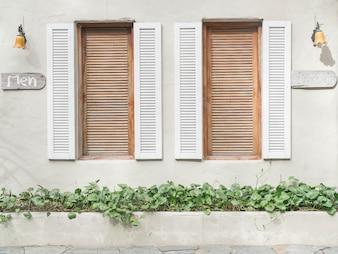 Padrão de janela antigo