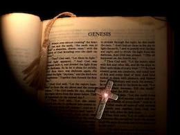 Página bíblia gênese